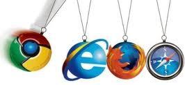 los 4 navegadores importantes
