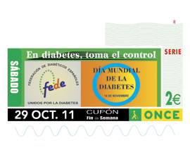 CUPON DIA MUNDIAL DIABETES